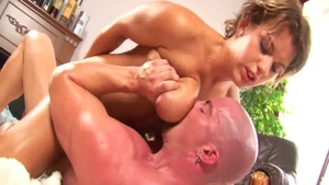 Hardcore loud sex together with large boobs MILF