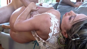 POV hard pounding escorted by huge boobs japanese babe