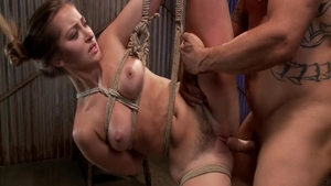 Bondage sex video between hawt raw Dani Daniels