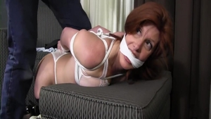 Large tits stepmom likes tied up