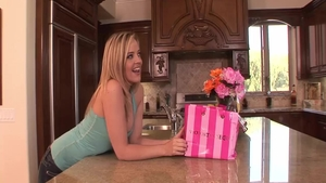 Awesome Alexis Texas playing with toys
