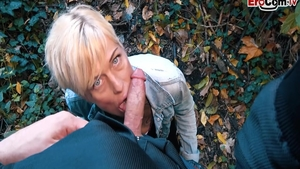 Slamming hard along with short hair german wife