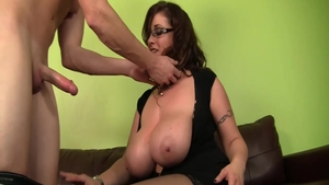 Good fuck with huge boobs cougar Eva Notty