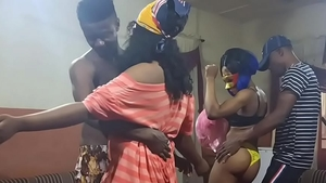 Blowjobs at the party wet nigerian