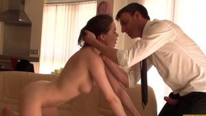 French Tina Kay & Pascal White submissive getting facial