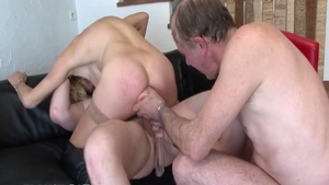 Hard nailed rough together with gorgeous amateur