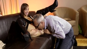 Ramming hard in company with young pornstar Tina Hot