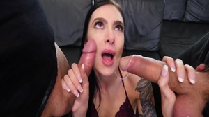Marley Brinx blowjobs video