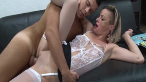 Real sex along with erotic amateur