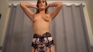 Fetish sloppy fucking between very sexy babe Honour May