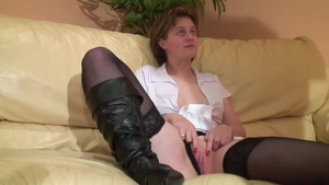 Anal fucked after interview european in HD