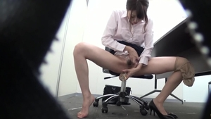 Fucking hard with hairy asian brunette