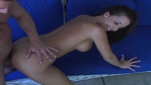 Hard ramming with huge tits brunette Richelle Ryan