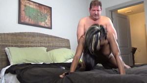 Homemade plowing hard escorted by mature Carmel Starr