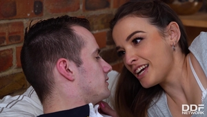 Hairy girlfriend lusts nailed rough HD