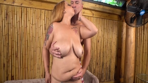 Mature Alexis Love sucking cock on vacation