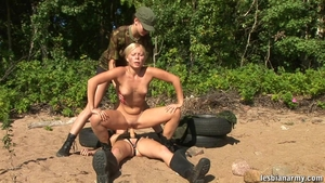 Blonde has a passion for nailed rough in HD