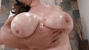 Natural tits Alex Chance babe fucking in the ass sex scene