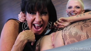 Nailed rough with brunette Joslyn James