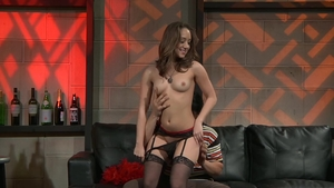 Brunette Remy Lacroix enjoys raw sex in stockings HD