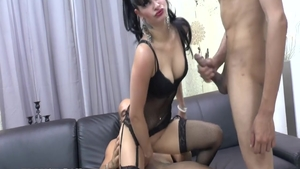 Perfect french babe agrees to hard nailining HD