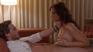 MILF Syren De Mer in sexy stockings hard doggy style in hotel