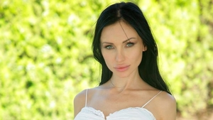 Driver Sasha Rose romantic reverse cowgirl outdoors