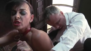 Big tits mature agrees to plowing hard in pantyhose in HD