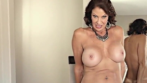 American Vanessa Videl dirty talk during interview HD