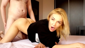 Very hot russian blonde masturbation
