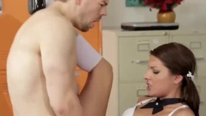 Teen needs reality nailed rough at the party HD