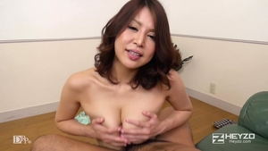 Good fucking together with large tits japanese mature