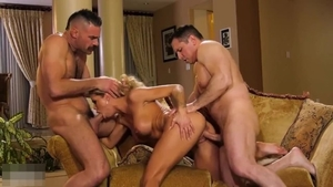 Threesome outside big boobs deutsch in HD