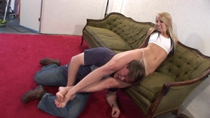 Big ass and super sexy babe torture