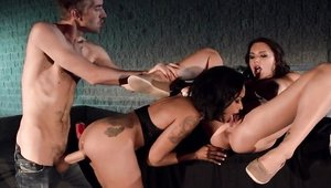 Hard slamming together with Juelz Ventura and Skin Diamond