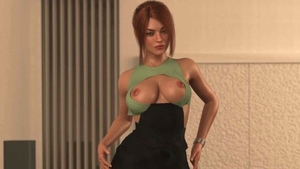 Large boobs redhead female orgasm butt pounded HD