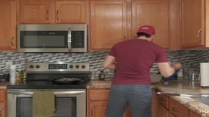 'drilling AND COOKING! thick latina Wife receives poked whilst The spouse Cooks'