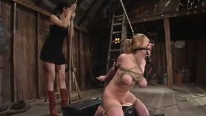 Electro torture escorted by Dee Williams
