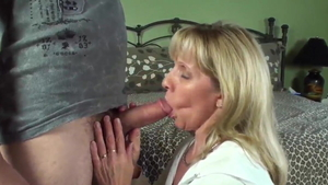 Getting facial in the company of german mature