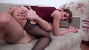 Very nice large boobs french married woman dick sucking