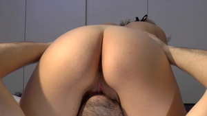 Gets ass licked along with swedish amateur