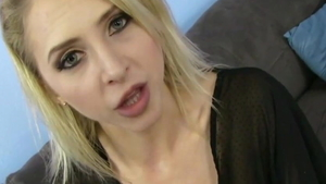 Young stepmother cum swallowing