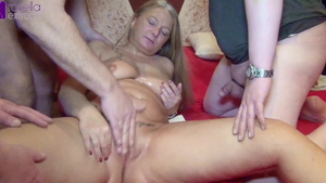 Stepmom Rosella Extrem creampie sex scene in HD