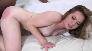 Hairy bisexual Britney Light rough interracial sex cumshot