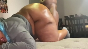 Young ebony slut enjoys greatly hardcore sex