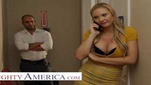 Real fucking alongside naughty american