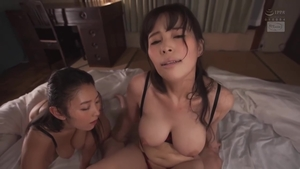 Big tits asian brunette feels up to hardcore sex in HD