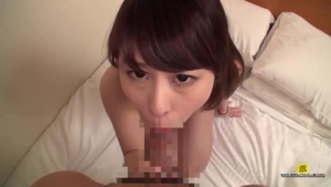 Hairy asian brunette finds dick to fuck
