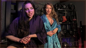 Mistress T and Alexandra Snow humiliation