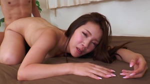 Hairy asian mature desires uncensored rough nailing in HD
